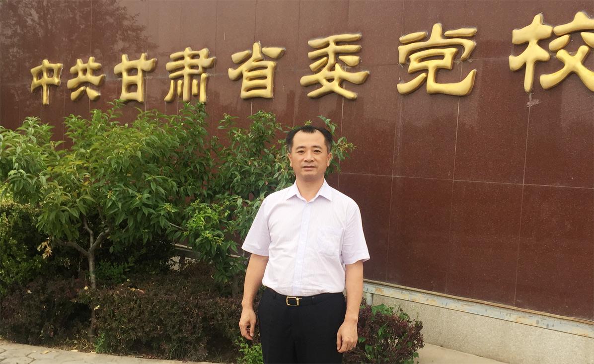 莱尔斯特董事长廖志南赴中共甘肃省委党校学习交流_图