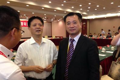 福建省常务副省长张志南先生亲切接见莱尔斯特廖志南先生