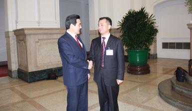 促进两岸交流,探索合作共赢- 记廖志南先生台湾之行