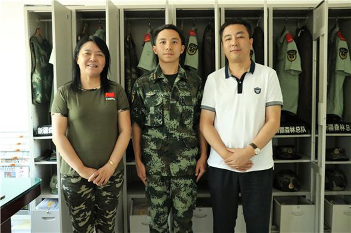 慰问新疆边防战士活动_图15