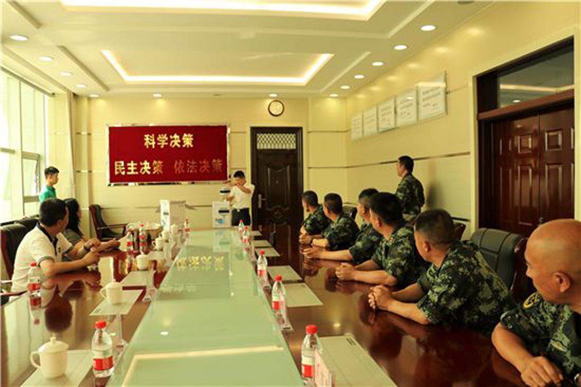 慰问新疆边防战士活动_图19
