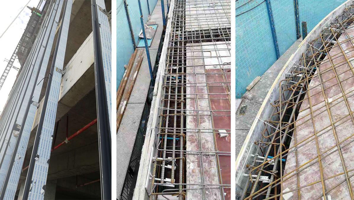 莱尔斯特承建柬埔寨新地标幕墙项目_图11