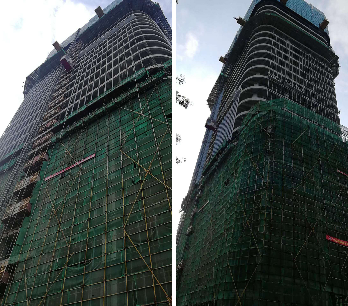莱尔斯特承建柬埔寨新地标幕墙项目_图14