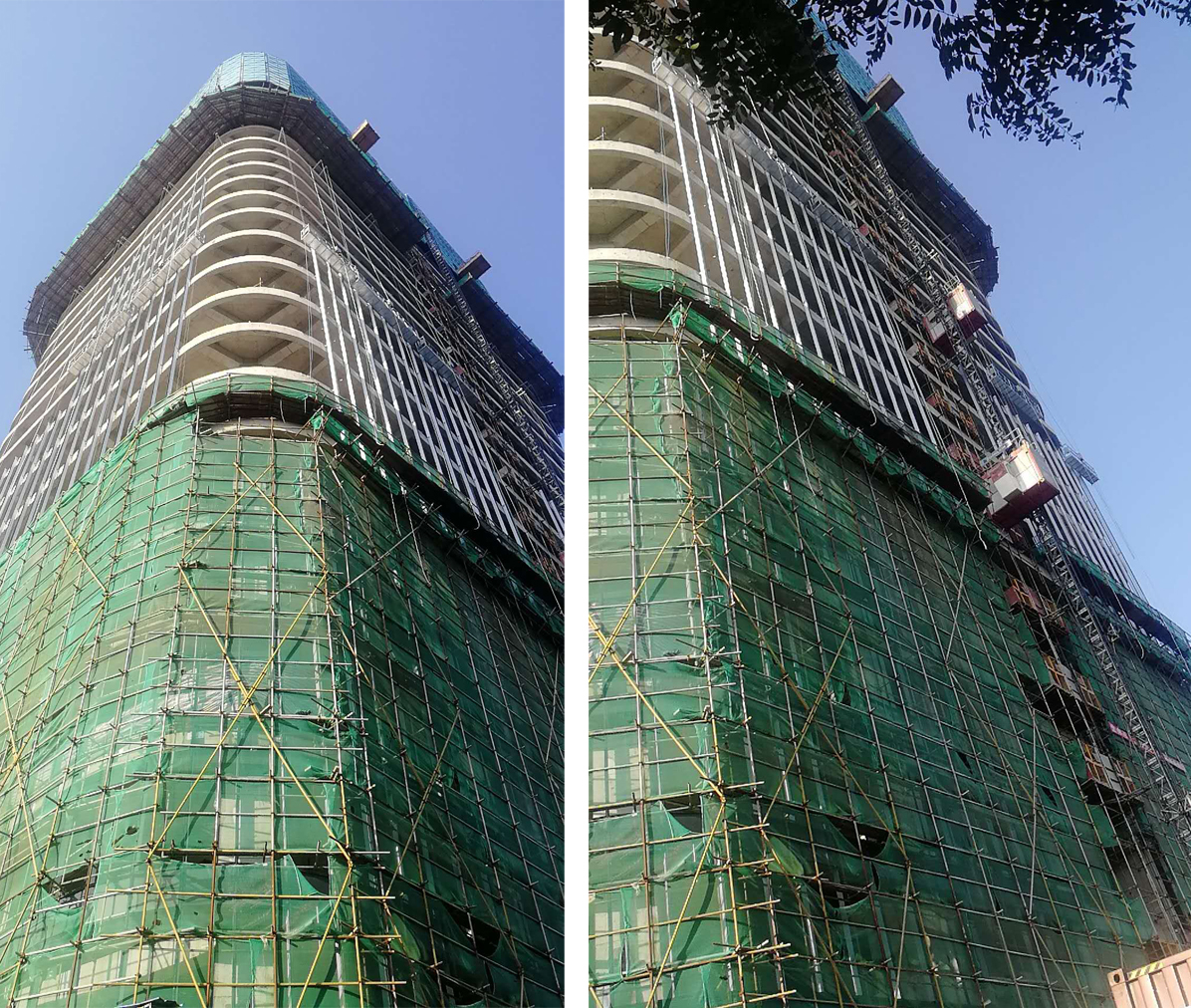 莱尔斯特承建柬埔寨新地标幕墙项目_图16